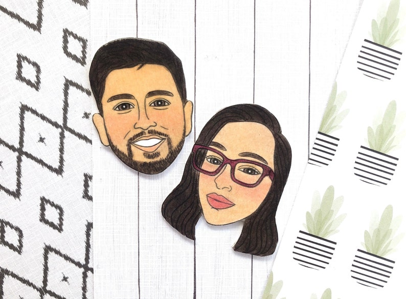 Personalized Magnets Custom Wedding Gift Funny Wedding Gift image 0