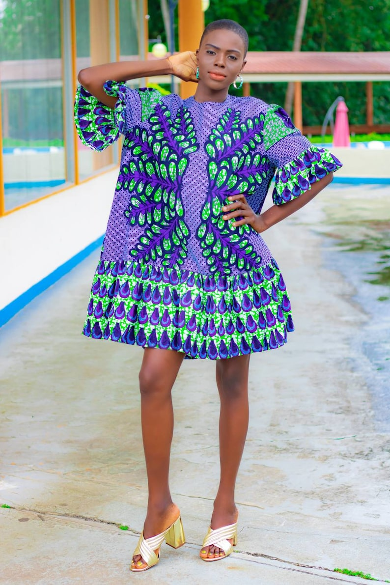 95bd2af84a7 African dresses  Ankara dress  mini dress occasion wear