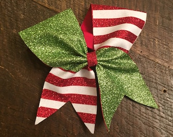 Elf Cheer Bow, Christmas Cheer bow