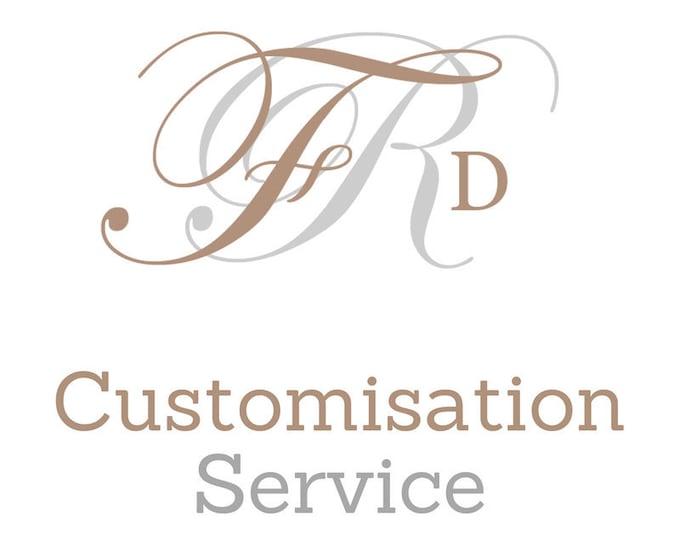 Featured listing image: Customisation Service