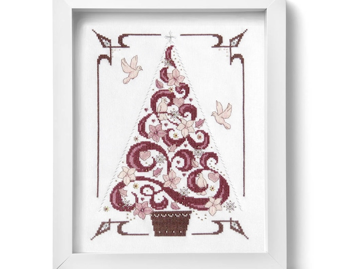 Featured listing image: O Tannenbaum in Pink (PDF Pattern)