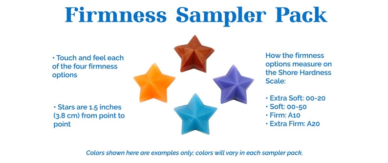 Firmness Sampler Pack  Try the firmness options before you image 0