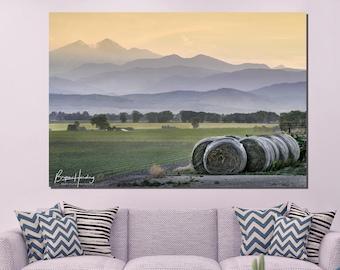 Colorado photography, Rocky Mountain photo, farm photo, wall art