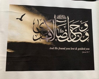Islamic calligraphy wall art decor