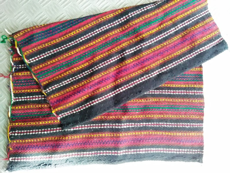authentic woven  small rug luggagea small rug hand-woven a small rug genuine wool rug decorative  rug, wool  rug rug from Bulgaria