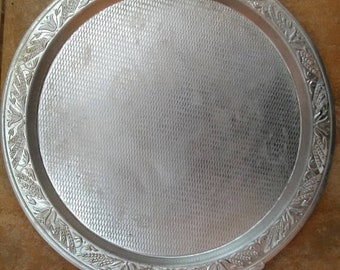 Very old soft material tray, Old tray, small tray, aluminum tray, loaf tray, for my kitchen, serving at home, guest house, living room