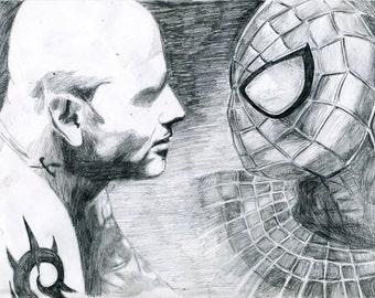 Corey and Spiderman