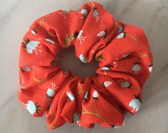 Scrunchie hair scrunchie, scrunchies, hair scrunchie, hair accessory, hair elastic, red accessories, scrunchie, hair accessory