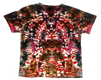 Youth Medium Volcanic Chasms Ice Dye T-Shirt