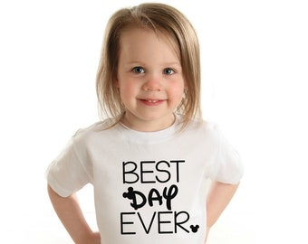 Best Day Ever Tee, Disney Shirts, Disney Shirt, Toddler Disney, Baby Disney, Adult Disney, Fall Shirts, Fall Shirt, Mickey Mouse T-Shirt