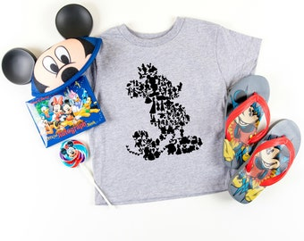 ea15efb44 Mickey Mouse Club House Graphic Tee, Disney Shirt, Minnie Mouse T-Shirt,  Matching Family Shirts, Kids Disney Tees, Youth, Toddler T-Shirts