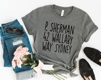 P. Sherman 42 Wallaby Way Syndey Graphic Tee e324f1f1a