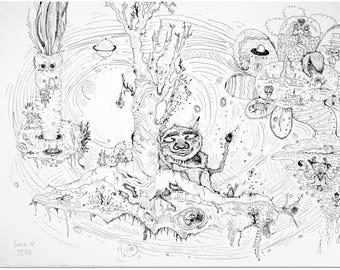 Lena W: Art Drawing #1