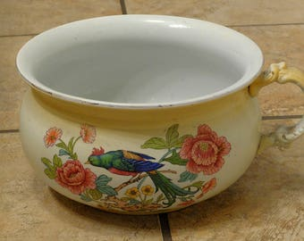 Dating a warranted chamber pot