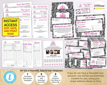 Paparazzi Order Form Paparazzi Business Invoice Receipt Etsy - How to create a commercial invoice online bead stores