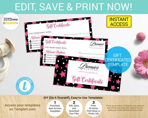 premier designs gift certificate premier designs coupon etsy