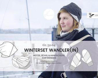 "eBook ""Wandler(in)"" Mütze, Schal, Handschuhe 52-64"