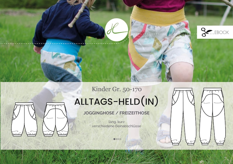 eBook Kinderhose Alltags-Heldin Gr. 50-170 image 0