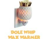 PINEAPPLE DOLE WHIP Melts Warmer Disney Soy Wax Plug In Clamshell Tart Warmer Plug-In Candle Magic Scents Decor Aloha Polynesian