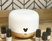 Mickey Electronic Fragrance Oil Diffuser Essential Oil Plug-In Main Street Melts Candle Co. Disney Inspired Scents Mickey Mouse Themed