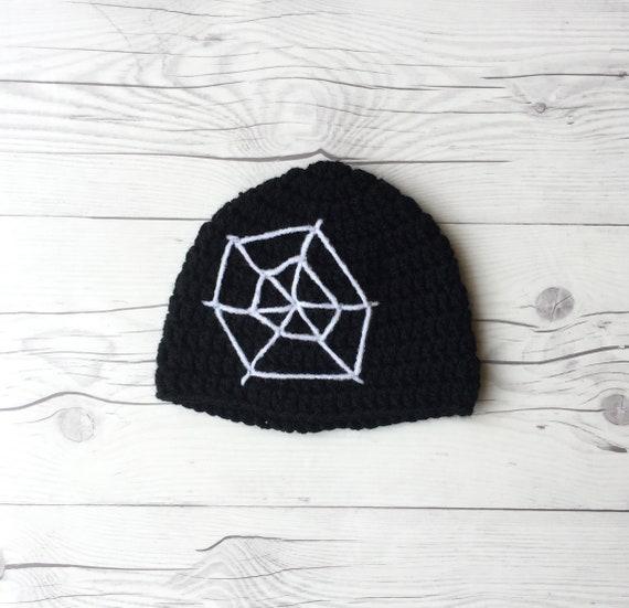 Halloween gorro crochet el sombrero de Halloween disfraz de | Etsy