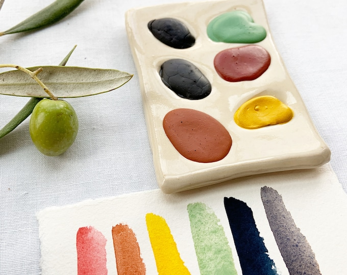 Featured listing image: Delightful Ways Six Color Ceramic Palette