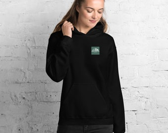Creativity Takes Courage Cozy Ruby Mountain Hoodie