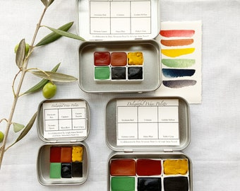 Delightful Ways Six Color Palette.  Larger sizes of this special palette