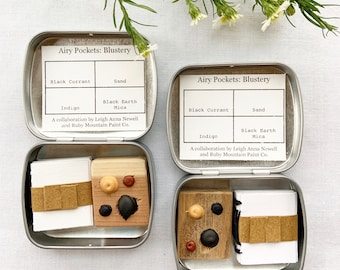 Airy Pockets: Blustery. A special collaboration palette
