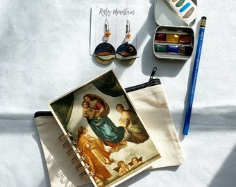 The Mother Mary Set, a handmade watercolor gift set for creative women