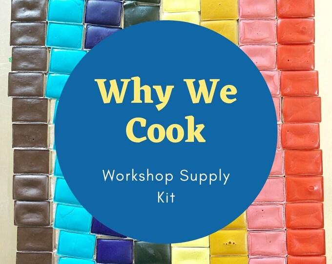 Featured listing image: Why We Cook: Workshop Supply Kit for Lindsay Gardner's workshop
