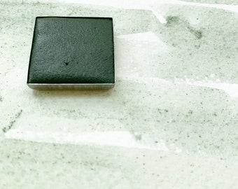 Celadonite. Half pan, full pan or bottle cap of handmade watercolor paint