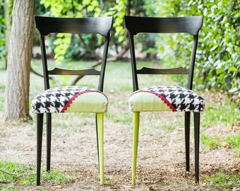 Pair of years ' 50 vintage chairs Revisited