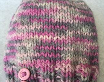 af12372294a Wool 2 button hat - toddler