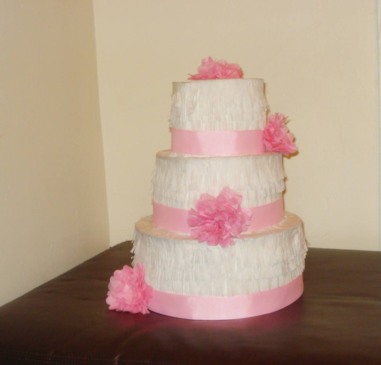 Astonishing Light Pink Wedding Cake Pinata Birthday Cake Pinata Etsy Funny Birthday Cards Online Alyptdamsfinfo
