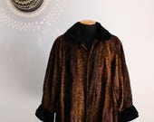 80s Fendi 365 women 39 s faux fur cheetah coat