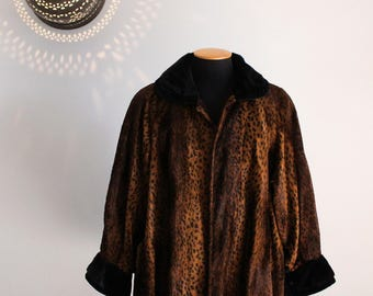 6e8b580ec9af 80s Fendi 365 women s faux fur cheetah coat