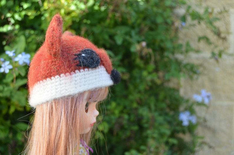 neo blythe doll hat fox Fox hat for neo blythe doll takara