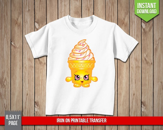 picture relating to Printable Iron Ons known as SHOPKINS Ice-product Aspiration Iron Upon Printable Go - Ice Product Iron Ons Move T-Blouse Decoration - Electronic PNG Record, Immediate Down load