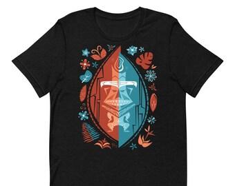 Pele Short-Sleeve Unisex Tiki-Shirt