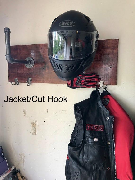 Motorcycle Helmet Holder Etsy