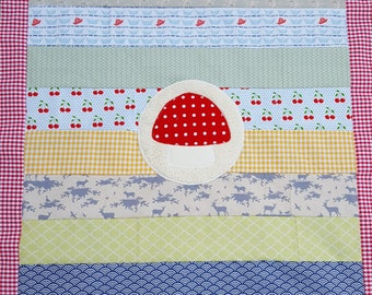 Ready to ship patchwork blanket