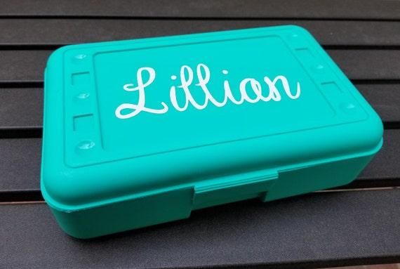 personalized pencil box crayon box pencil holder pencil box etsy