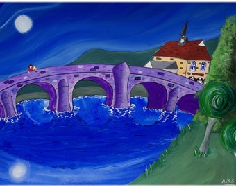 Builth pictures, set of 3 prints, special offer artwork