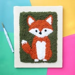 The Punch Box - Fox (Punch Needle KIT)