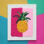 The Punch Box - Pineapple (Punch Needle KIT)