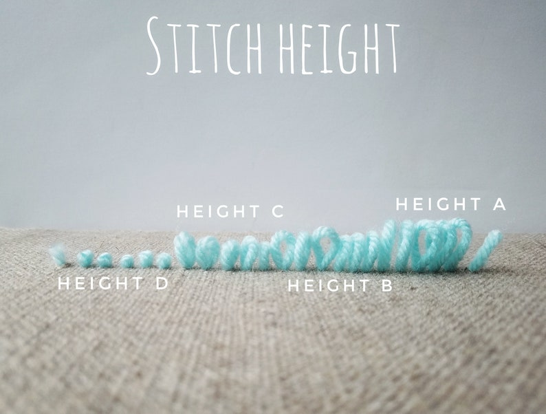 Navy Moons PRESALE the PUNCH BOX Punch Needle kit