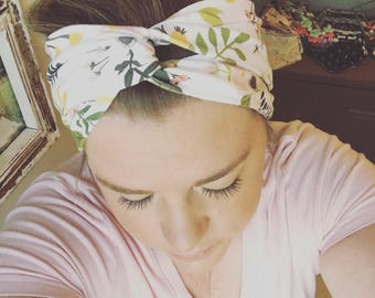 Headwrap // Criss Cross Headband