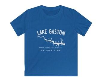 Lake Gaston Kids Softstyle Tee