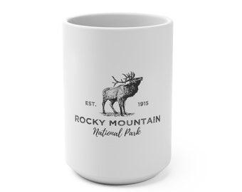 Rocky Mountain National Park Elk Mug 15oz